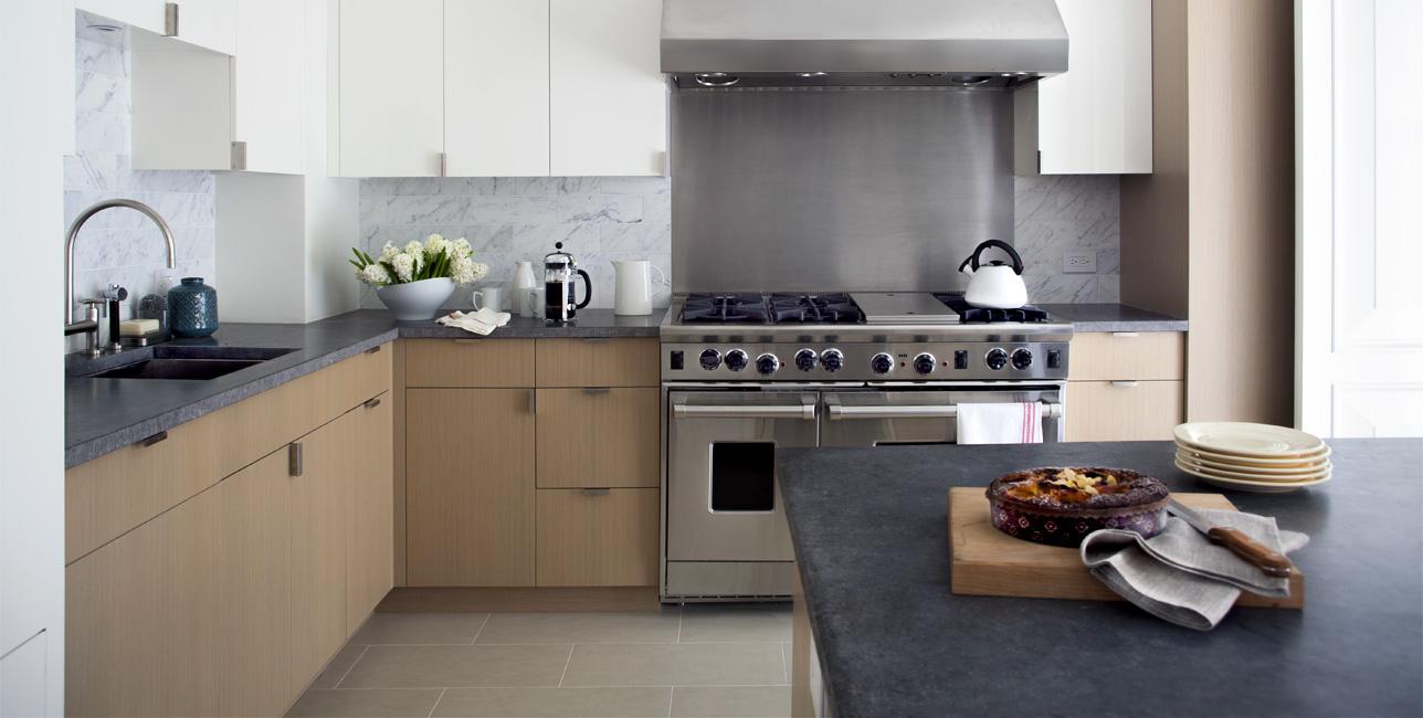 Столешница из искусственного камня для кухни