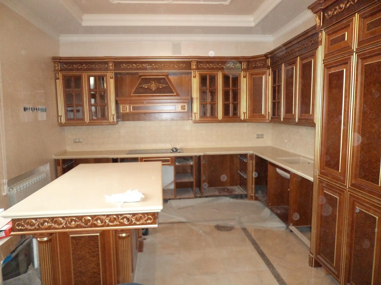Столешницы для кухни и мойка из искусственного камня